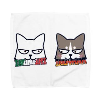 二匹はなかよし Towel handkerchiefs