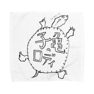 子亀のロディ Towel handkerchiefs