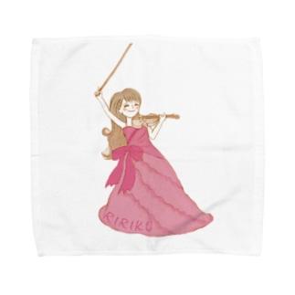 りりこグッズ全身 Towel handkerchiefs