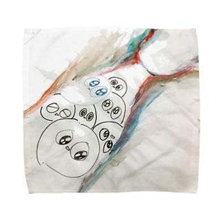 はわわちゃん Towel handkerchiefs