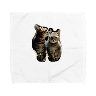チーとドラミ Towel handkerchiefs