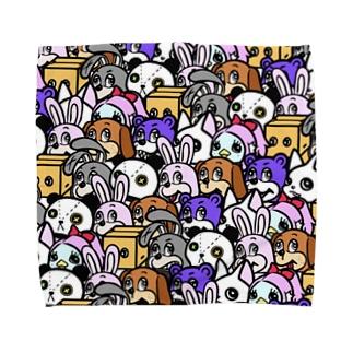 ANIMALs 8th Towel Handkerchief