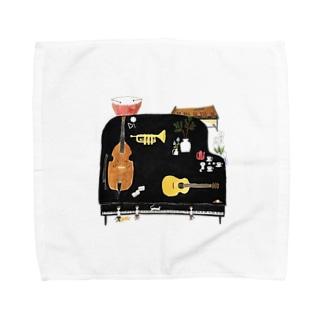 音楽 Towel handkerchiefs
