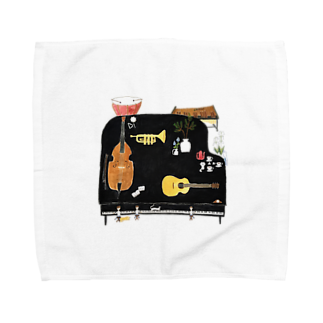 室井雑貨屋の音楽 Towel handkerchiefs
