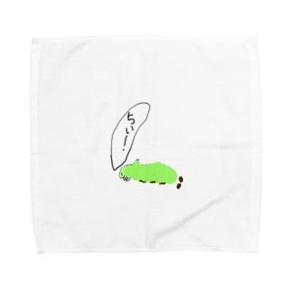ウスタビガ Towel handkerchiefs