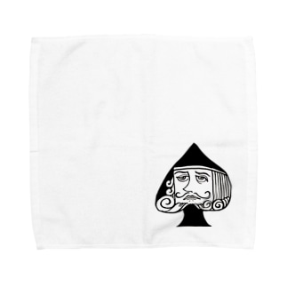 ♠ KING  Towel handkerchiefs