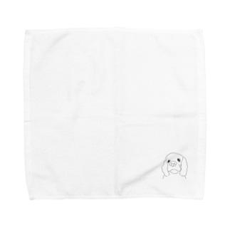 エル Towel handkerchiefs