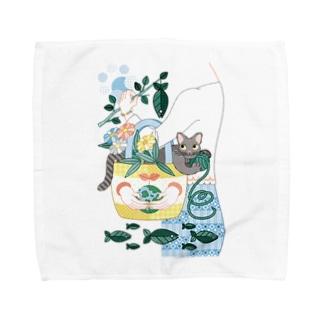 N・ECOBAG Towel handkerchiefs