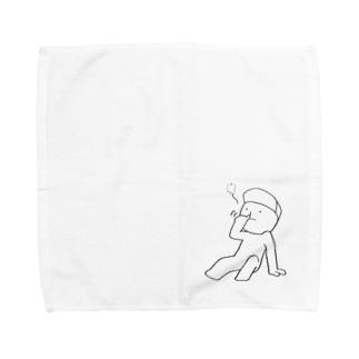 あべくん(ほじほじ) Towel handkerchiefs