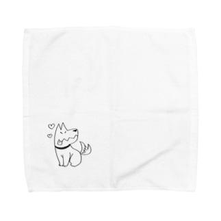 あべくんちのイヌ Towel handkerchiefs