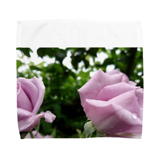 双子薔薇 Towel Handkerchief