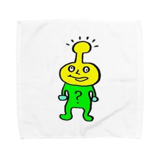 ハテナ Towel handkerchiefs