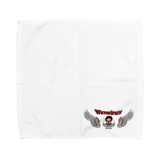 荒ぶる桜文鳥さん Towel handkerchiefs