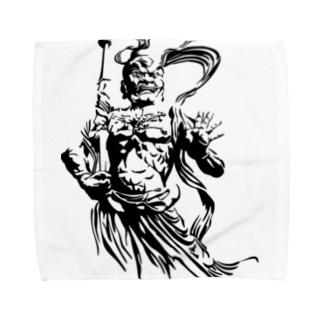 金剛力士 阿形 Towel handkerchiefs