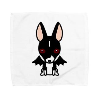悪魔犬フィア タオルハンカチ