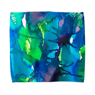 blue_psychic_darling Towel handkerchiefs