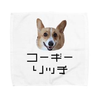コーギーのリッチ Towel handkerchiefs
