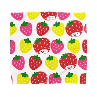 いちごちゃん Towel handkerchiefs