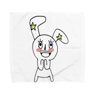 ハッピーくん Towel handkerchiefs