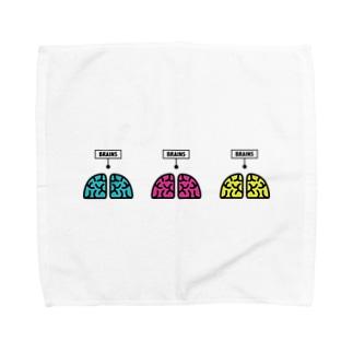 BRAINS Towel handkerchiefs