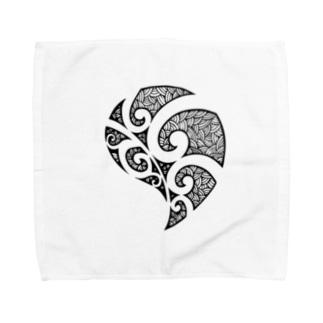 モンステラ Towel handkerchiefs