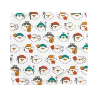 シチフクドリ (フルグラ) Towel handkerchiefs