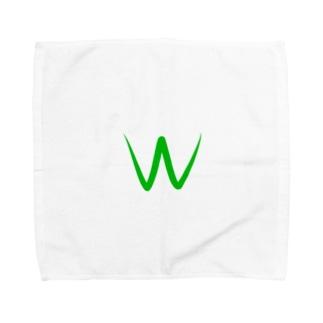 Wカップ Towel handkerchiefs