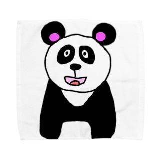 パンダのPANDA!! Towel Handkerchief