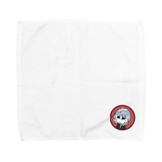 元気のない少年くん Towel handkerchiefs