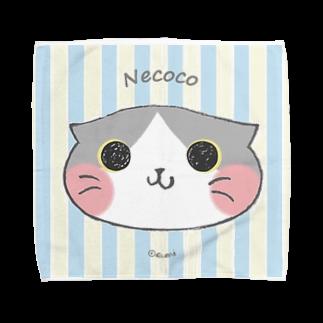 ぐみのねここ✴︎はんかち(すこてぃっしゅ) 猫 Towel handkerchiefs