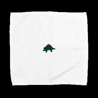 kurubusiの恐竜くん Towel handkerchiefs