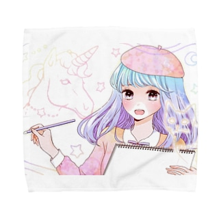 妄想✩世界 Towel handkerchiefs
