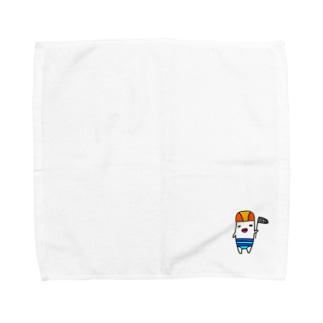 夏にひたる奴 Towel handkerchiefs
