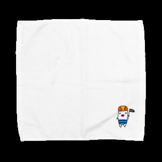 kurubusiの夏にひたる奴 Towel handkerchiefs