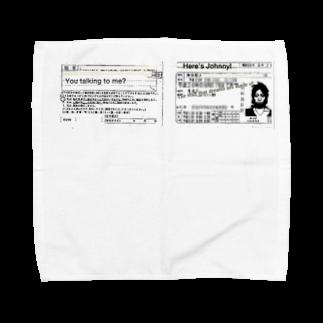 ELECTRICLADY LABOのオリジナルmovie Towel handkerchiefs