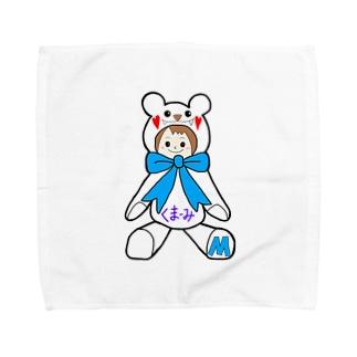 くまーみシリーズ Towel handkerchiefs