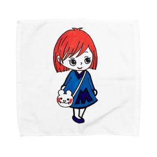 まあみちゃんシリーズ Towel handkerchiefs