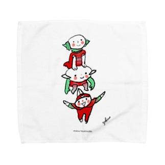 ワンダーランドの住人たち Towel Handkerchief