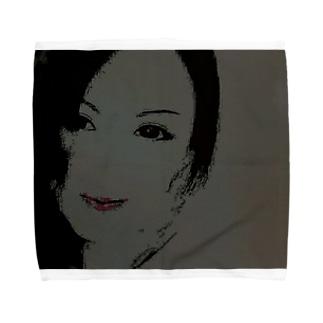 真理絵 Towel handkerchiefs