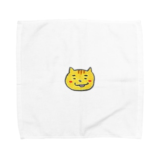 わらしっこ まゆげねこ Towel handkerchiefs