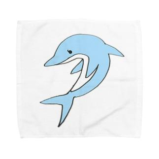 kawasaki cluster Towel handkerchiefs