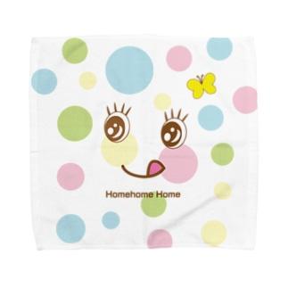 水玉模様は晴れた日に Towel handkerchiefs