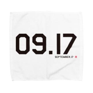 9月17日(365日/366日)誕生日/記念日 タオルハンカチ