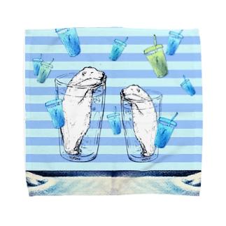 一緒にいかが? Towel handkerchiefs