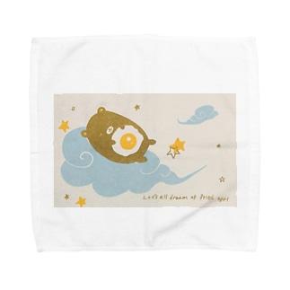 みんなで目玉焼きの夢をみよう Towel Handkerchief
