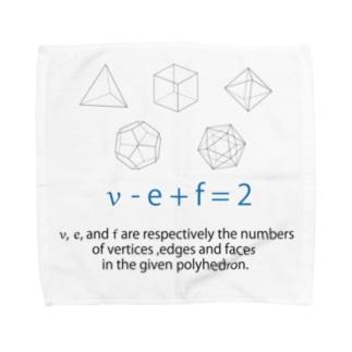 オイラーの多面体定理 Towel handkerchiefs