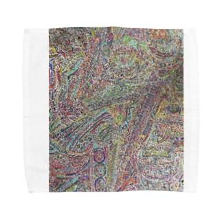傷跡 Towel handkerchiefs