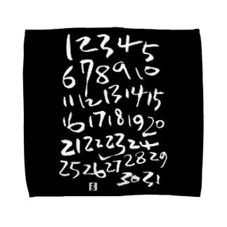 your calendar タオルハンカチ