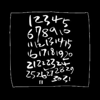 megumiillustrationのyour calendarタオルハンカチ