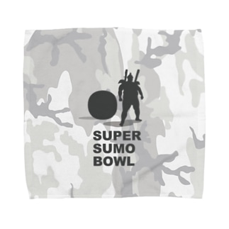 SUPER SUMO BOWLカモ Towel handkerchiefs